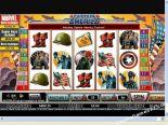 hracie automaty Captain America CryptoLogic