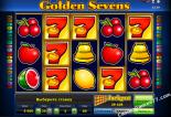 hracie automaty Golden sevens Greentube