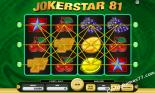 hracie automaty Joker Star 81 Kajot Casino