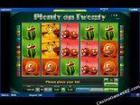 hracie automaty Plenty on Twenty Novomatic