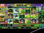hracie automaty The Hulk CryptoLogic